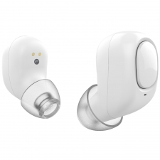 Casti wireless Hi-Fi Elari EarDrops White
