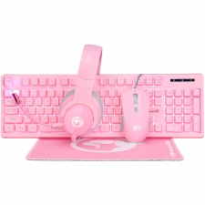 Advanced Gaming Kit 4 in 1 Marvo CM418 (tastatura, casti, mouse, mousepad)