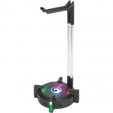 Stand cu hub USB pentru casti Marvo HZ-04