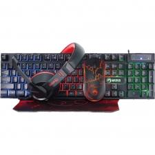 Gaming Starter Kit 4 in 1 Marvo CM409 (tastatura, casti, mouse, mousepad)